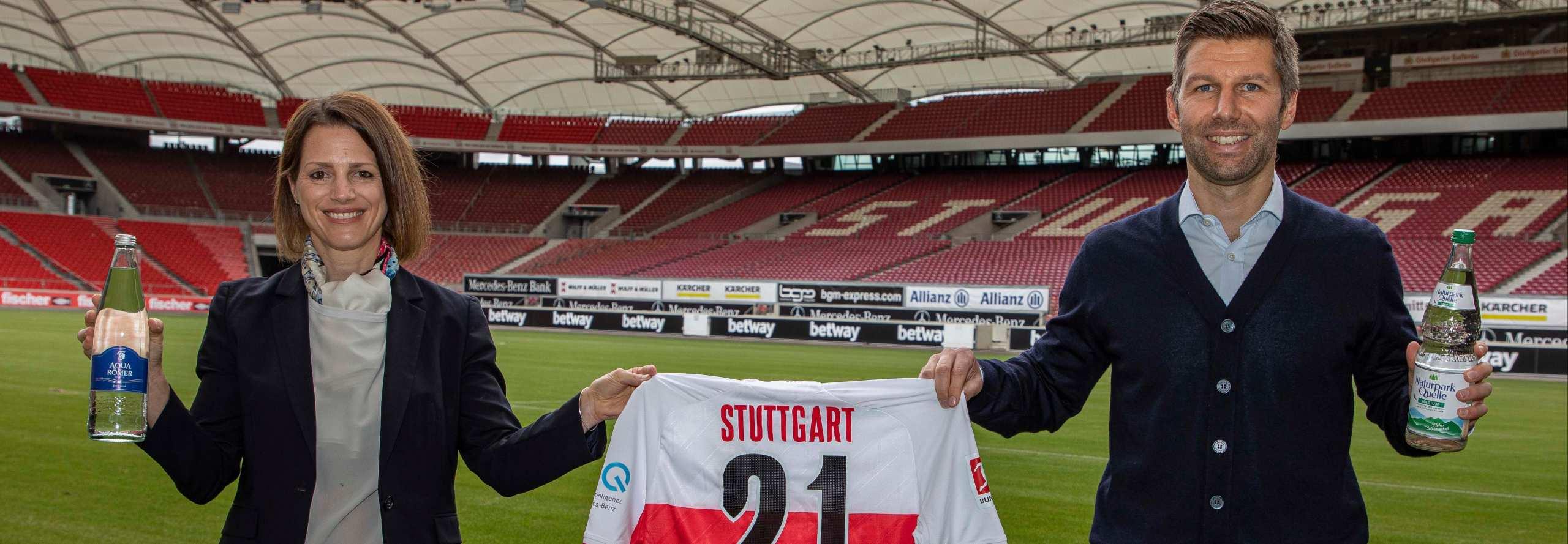 Nadja Ohlendorf gemeinsam für den VfB Stuttgart