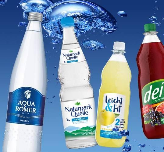 aquaRömer startet Kampagnen für Flagship-Marken